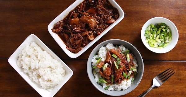 Instant Pot Honey Bourbon Chicken