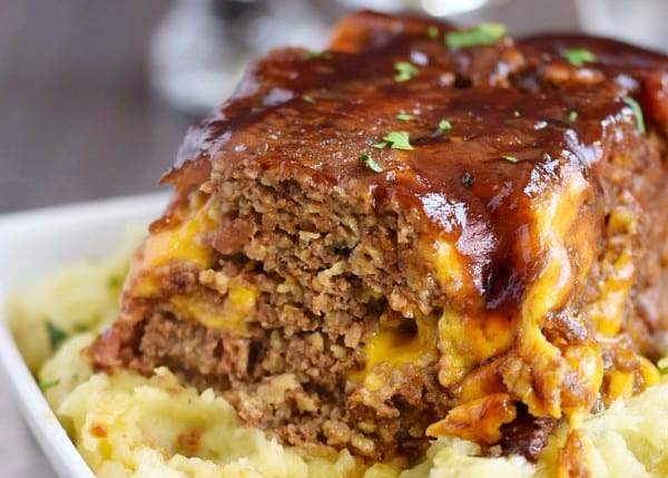 Instant Pot Freezer meals - Bacon Cheeseburger Meatloaf