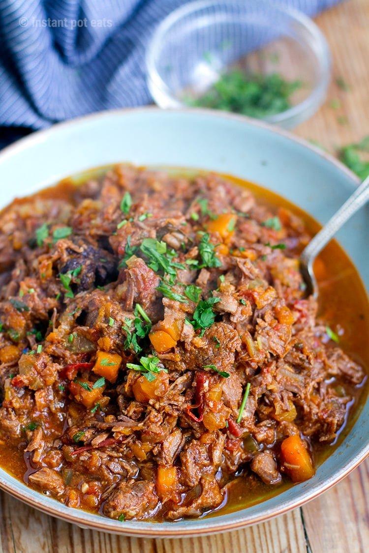 Instant Pot Beef Ragu Sauce