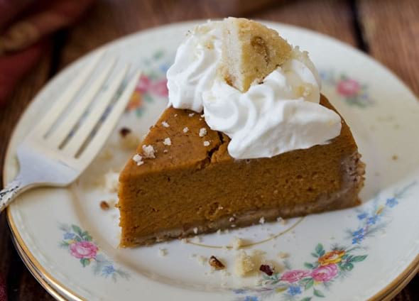 Instant Pot Pumpkin Pie Thanksgiving