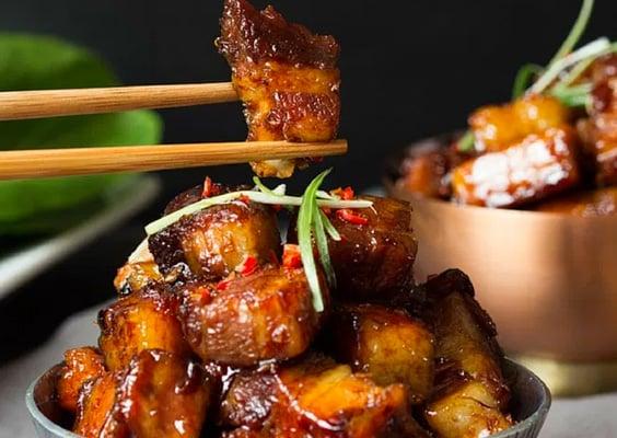 Sticky Instant Pot Chinese Pork Belly
