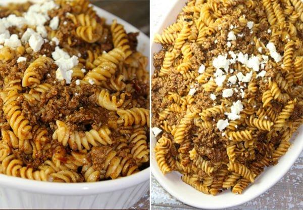 Ground Beef Enchilada Pasta - Instant Pot Recipe