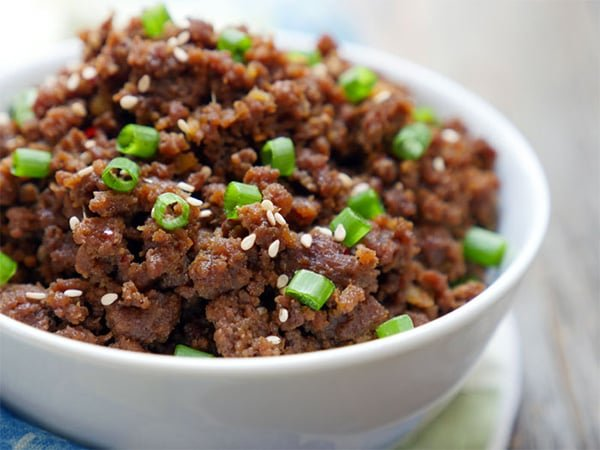 Korean Instant Pot Ground Beef Bulgogi