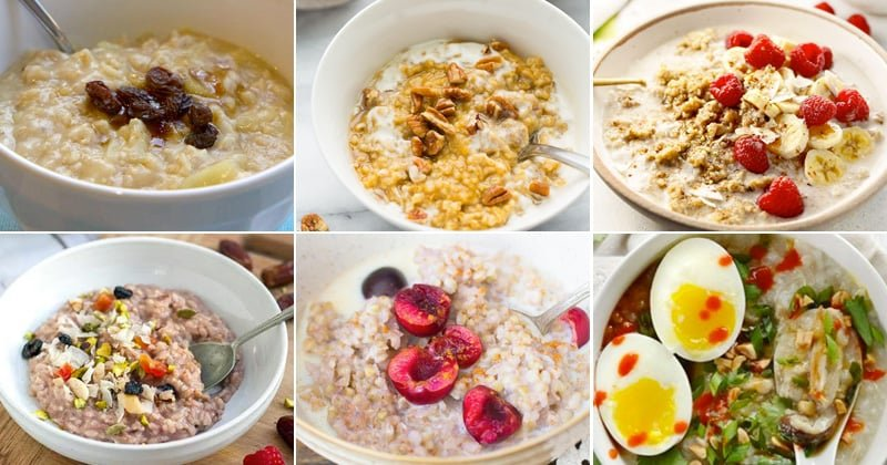 Instant Pot Breakfast Oats & Porridge Recipes