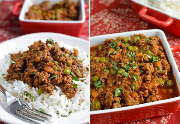 Instant Pot Ground Beef Keema Curry