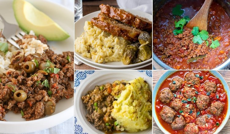 The BEST Instant Pot Ground Beef Recipes