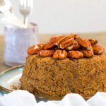 Instant Pot Holiday Orange Spice Cake (Vegan, Gluten-Free Option Available)