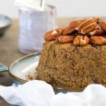 Instant Pot Holiday Orange Spice Cake (Vegan, Gluten-Free Option)