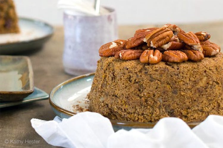 Instant Pot Cake (Vegan, Orange Spice)