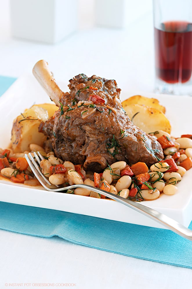 Instant Pot Lamb Shank Recipe