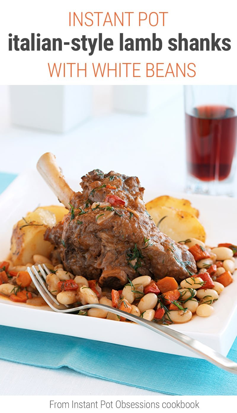 Lamb Shanks Instant Pot Italian-Style Recipe