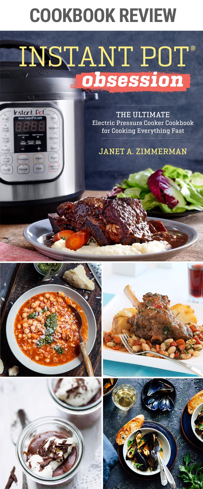 Instant Pot Obsession - Cookbook Review