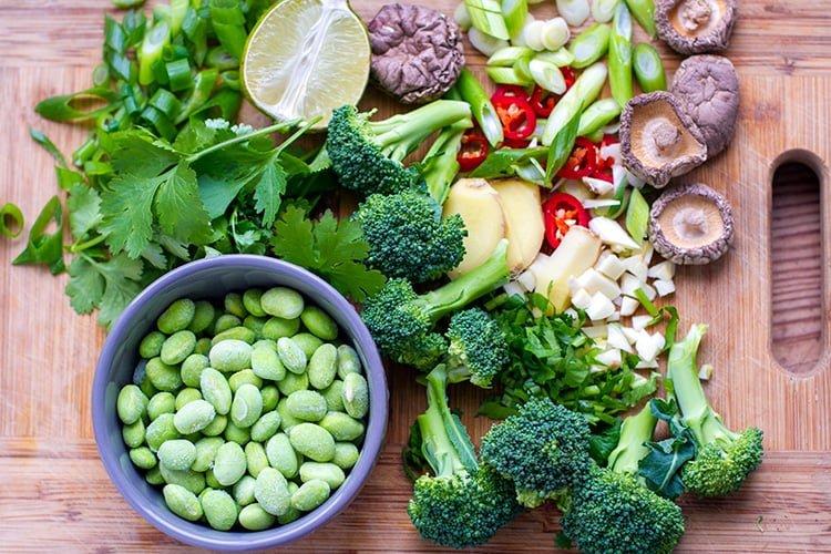 instant-pot-vegan-udon-soup-ingredients