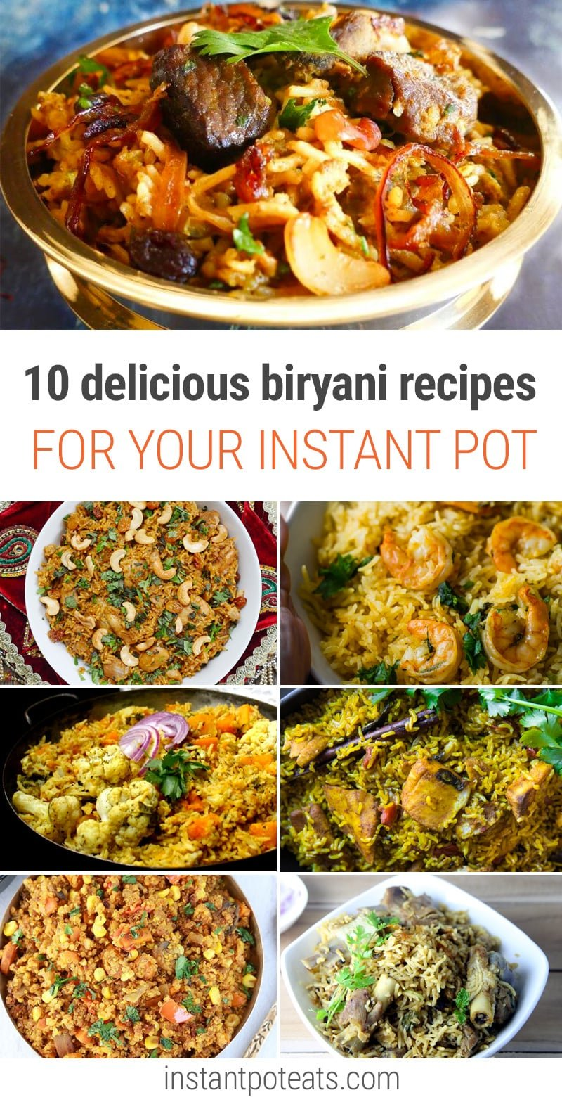 10 Delicious Instant Pot Biryani Recipes To Try Tonight