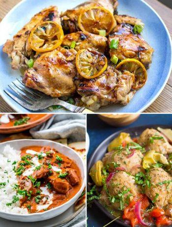 Instant Pot Chicken Thigh Recipes