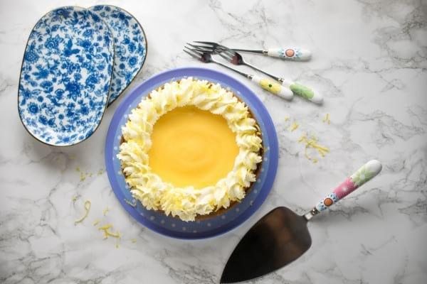 Lemon Ginger Instant Pot Cheesecake