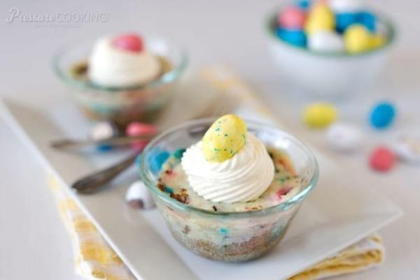 Robin Egg Mini Instant Pot Cheesecakes