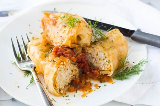 Stuffed Cabbage Rolls In Instant Pot