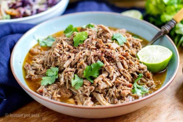 Barbacoa Inspired Instant Pot Pulled Pork