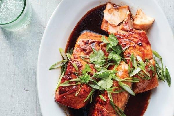 Vietnamese Caramel Instant Pot Salmon