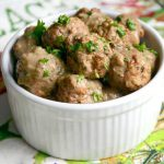 Instant Pot Swedish Meatballs & Mushroom Gravy