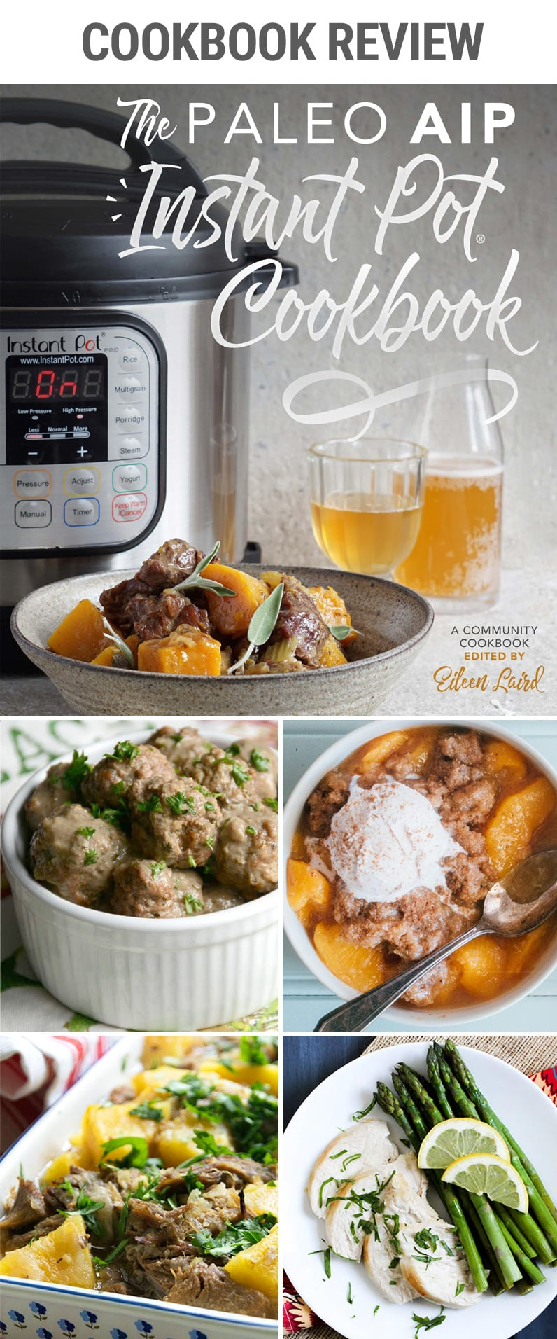 The Paleo AIP Instant Pot Cookbook - Review & Highlights