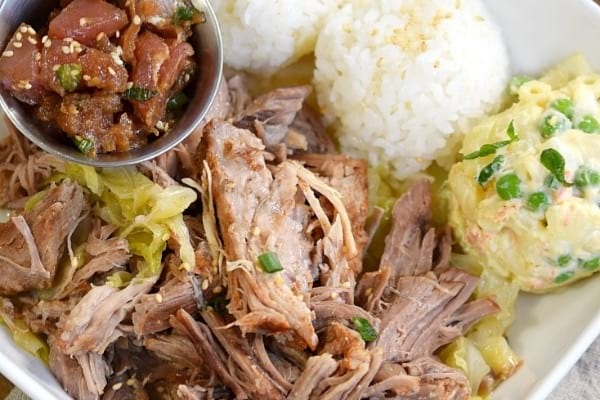 Kalua Pork & Cabbage in Instant Pot
