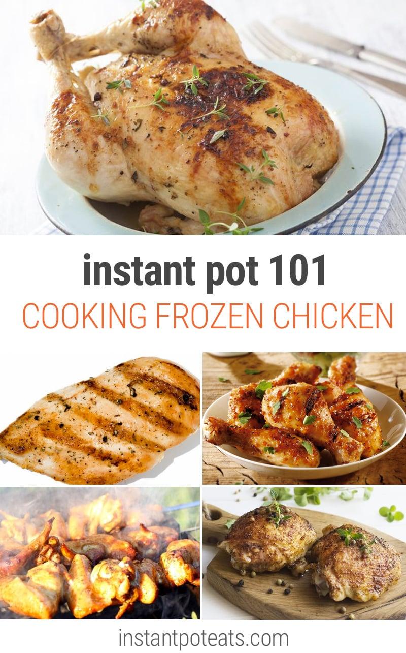 Instant Pot Frozen Chicken
