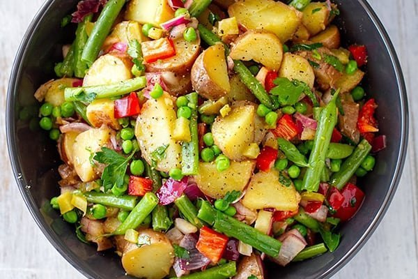 Potato Salad With Tangy Vinaigrette (Vegan, Gluten-Free)