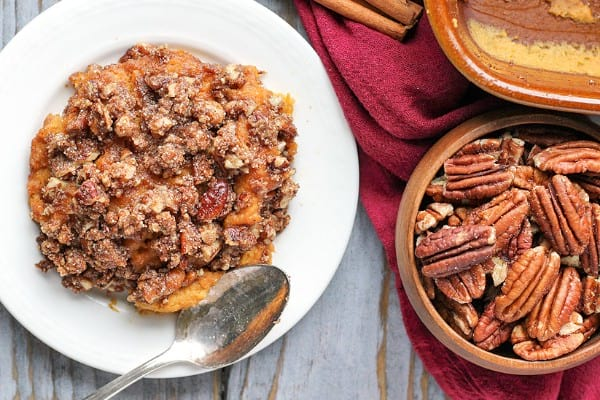 Paleo sweet potato casserole in Instant Pot