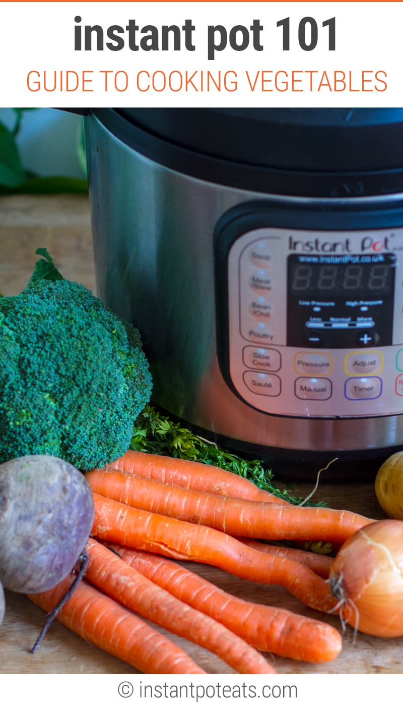Instant Pot 101: How To Cook Different Vegetables With Your Instant Pot aPressure Cooker (A Complete Guide)
