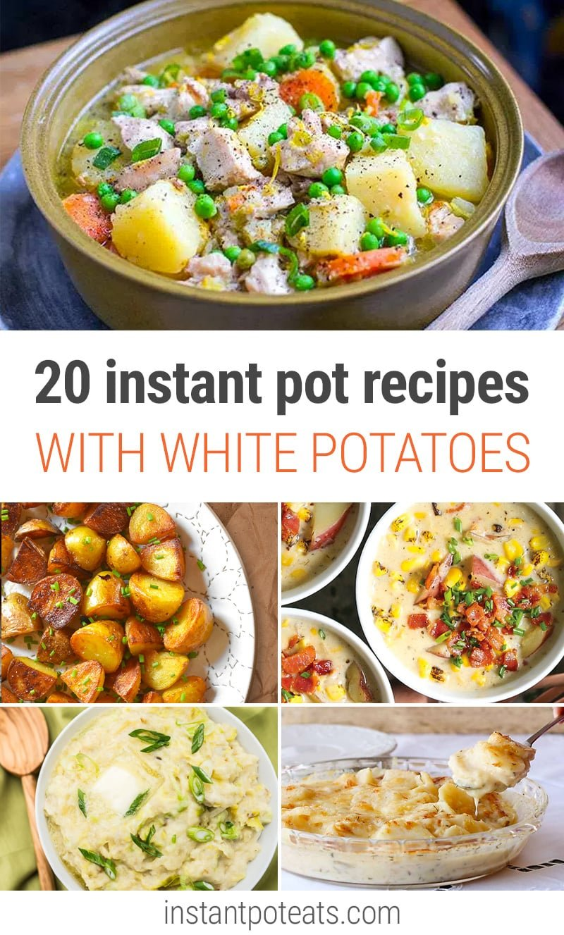 Instant Pot Potato Recipes roundup