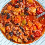 Italian Instant Pot Bean & Pork Stew