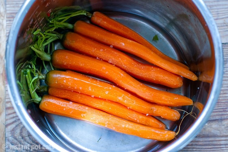 Cooking carrots in your Instant Pot