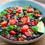 Instant Pot Mexican Bean Salad