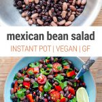 Mexican Bean Salad With Instant Pot