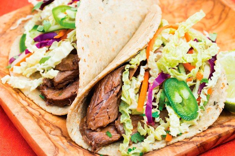 Instant Pot Vietnamese Beef Tacos