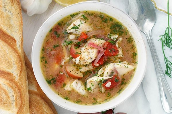 Instant Pot Fish & Potato Stew