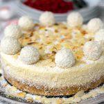 Instant Pot Raffaello Cheesecake