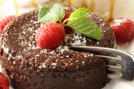 Instant Pot Chocolate Lava Cake