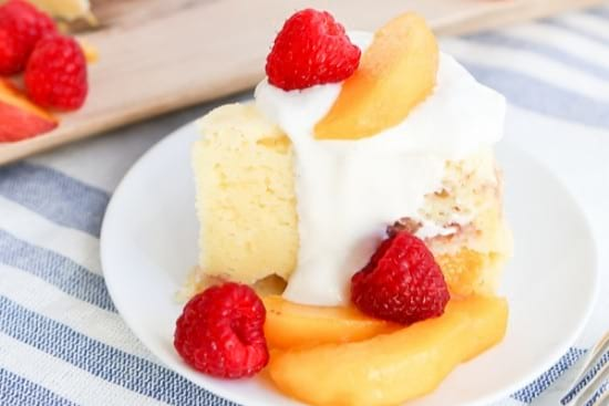Gluten-Free Peach Melba