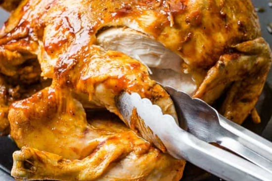 BBQ whole chicken instant pot recipe