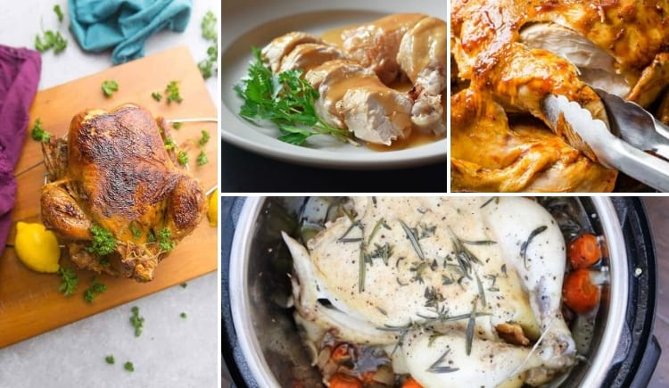 The best Instant Pot whole chicken recipes