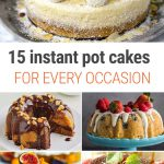 15 Best Instant Pot Cake Recipes For Every Occasion