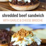 Instant Pot Shredded Beef Sandwiches