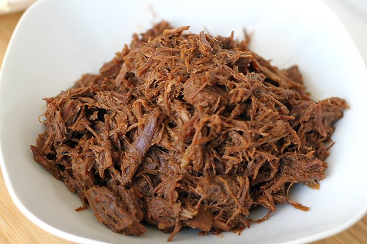 Instant Pot BBQ shredded beef