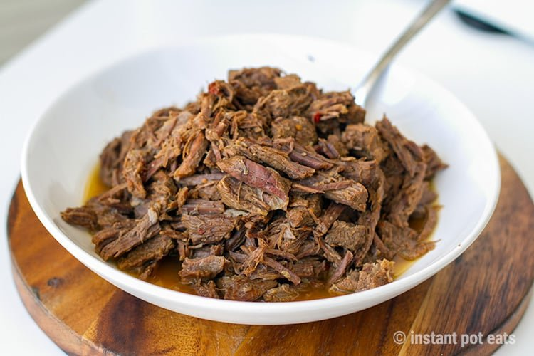 Instant Pot Shredded Beef (Paleo, Whole30, Keto, Gluten-free)