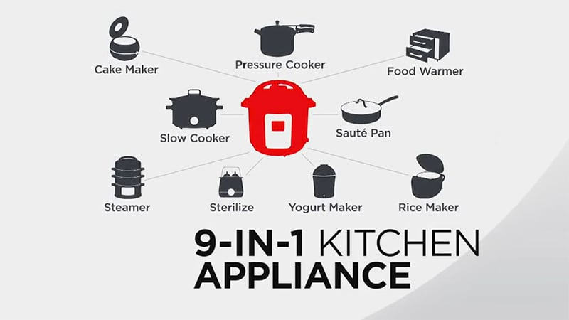 Instant Pot Viva 15 functionalities