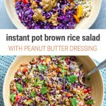 Instant Pot Brown Rice Salad
