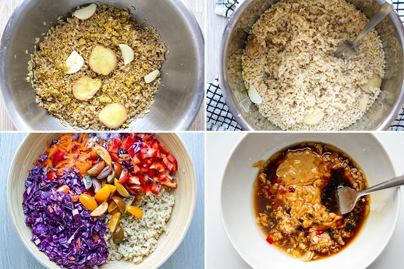 How to make Instant Pot brown rice and turn it into a delicious, healthy salad